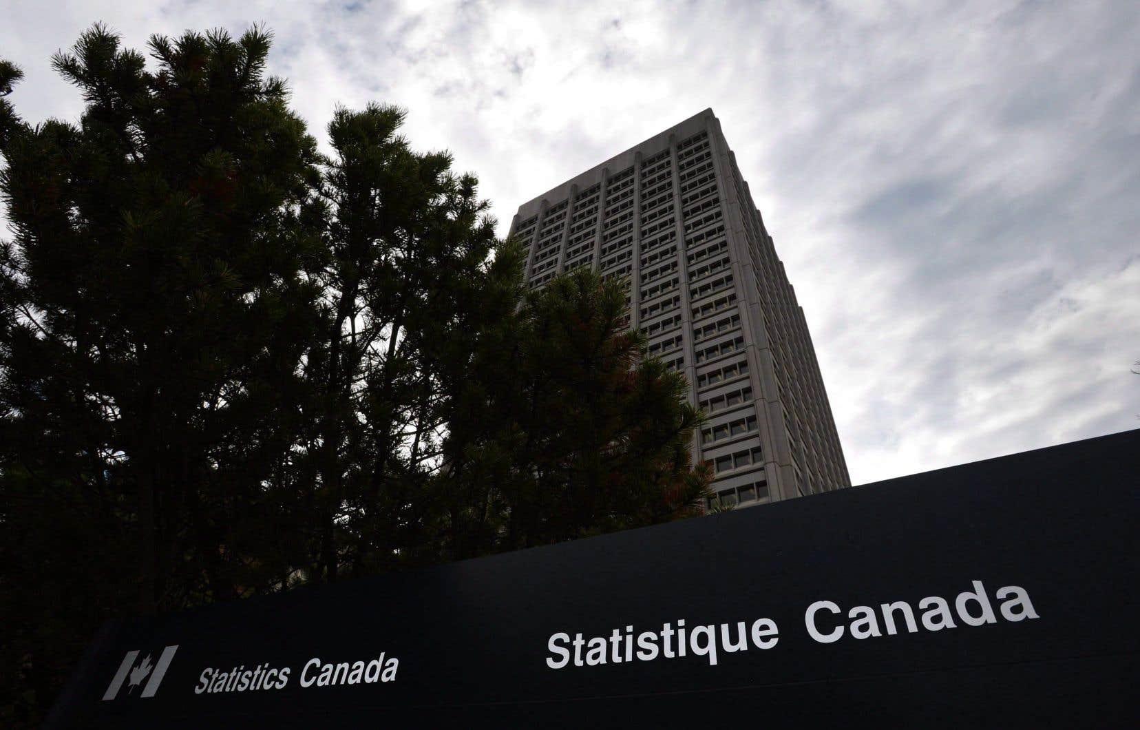 À partir de janvier, Statistique Canada recueillera auprès de neuf banques les informations de 500000 de leurs clients: identité, solde bancaire et transactions effectuées.