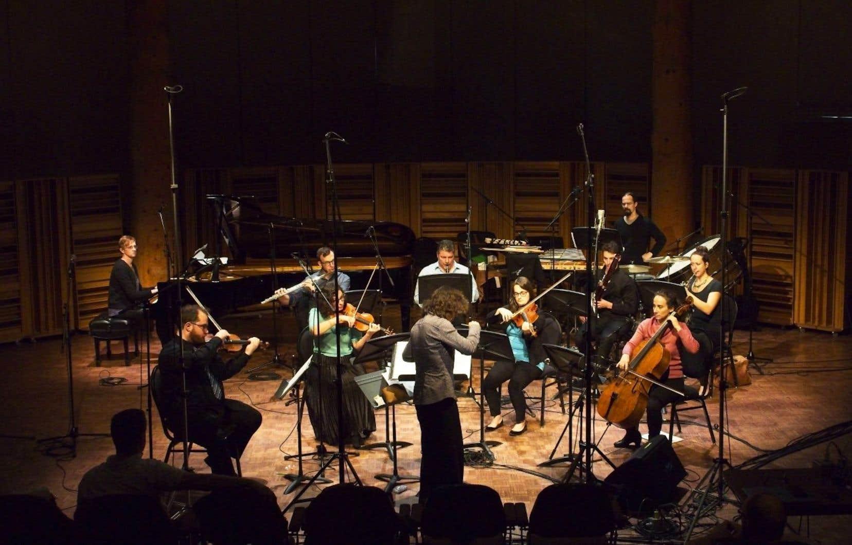 En 2018, les lauréats du projet Générationont été invités à composer pour un ensemble de dix musiciens: un quatuor à cordes, un quatuor de vents (flûte, clarinette, basson, cor), percussion et piano.