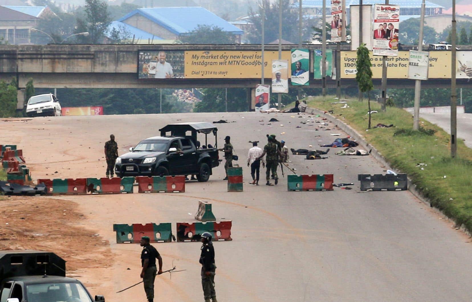 L'armée a ouvert le feu cette semaine à plusieurs reprises sur des manifestants du Mouvement islamique du Nigeria (IMN).