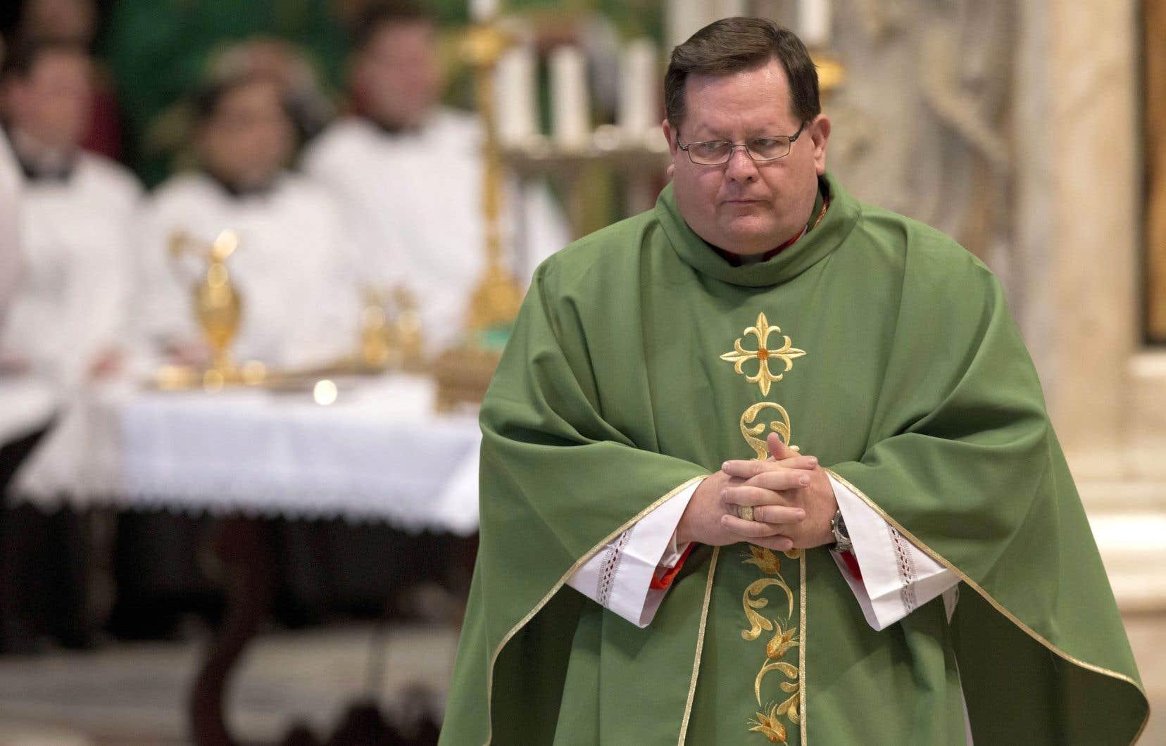 L'archevêque Gérald Cyprien Lacroix