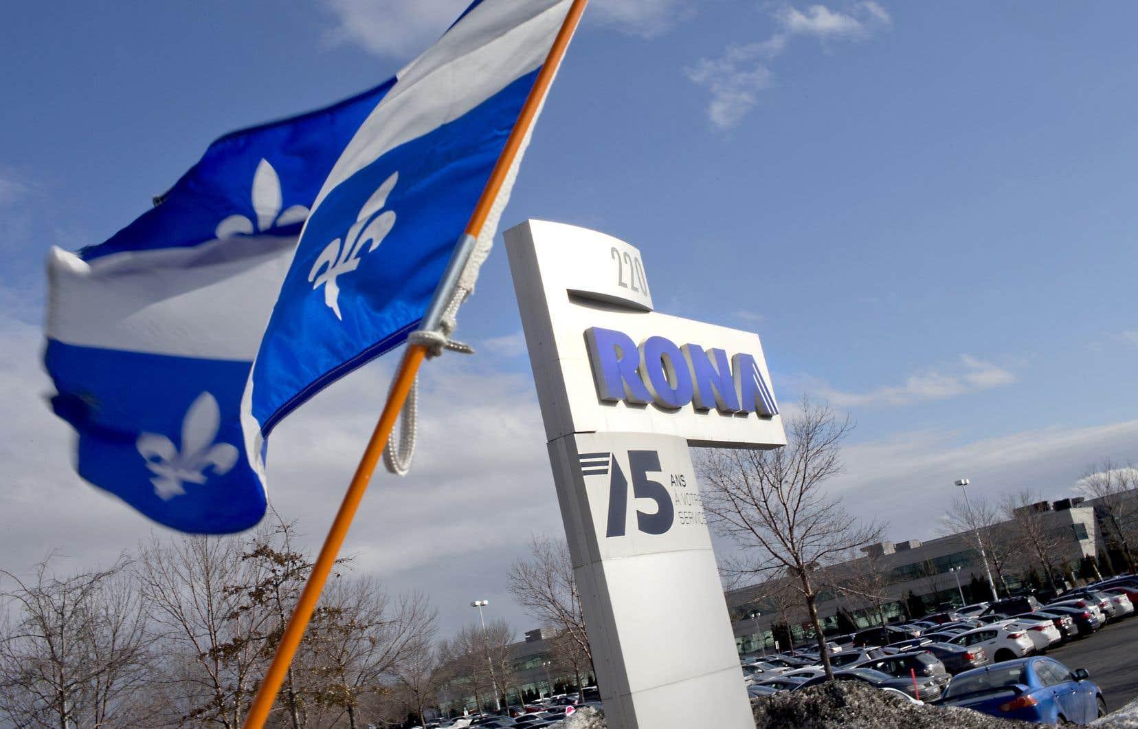 L'entrepôt central de Rona, à Boucherville