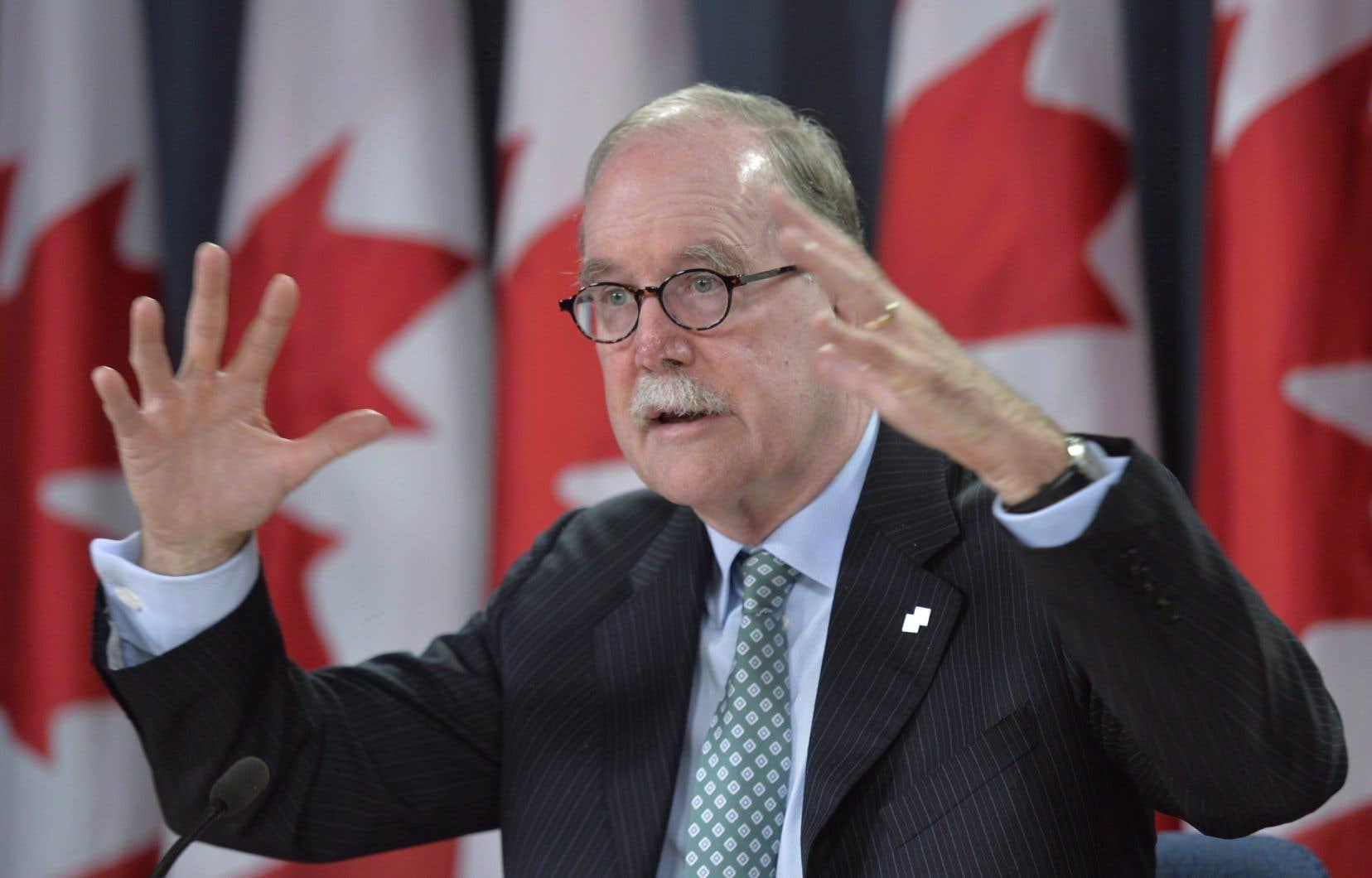 L'ancien commissaire aux langues officielles, Graham Fraser