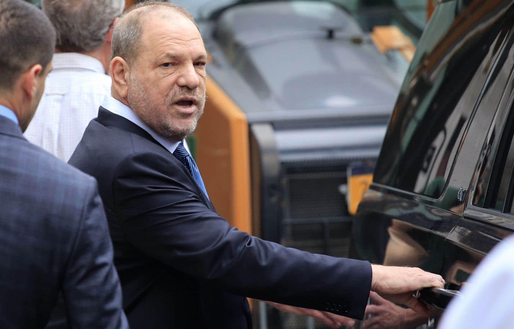 Le producteur Harvey Weinstein est visé par plusieurs poursuites pour harcèlement et agressions sexuels.