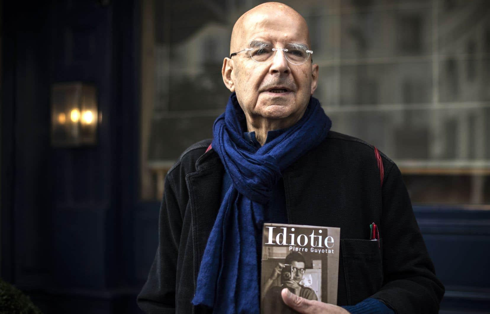 Le romancierde 78 ans vient de recevoir leprix spécial du jury du prix Femina pour l'ensemble de son œuvre.