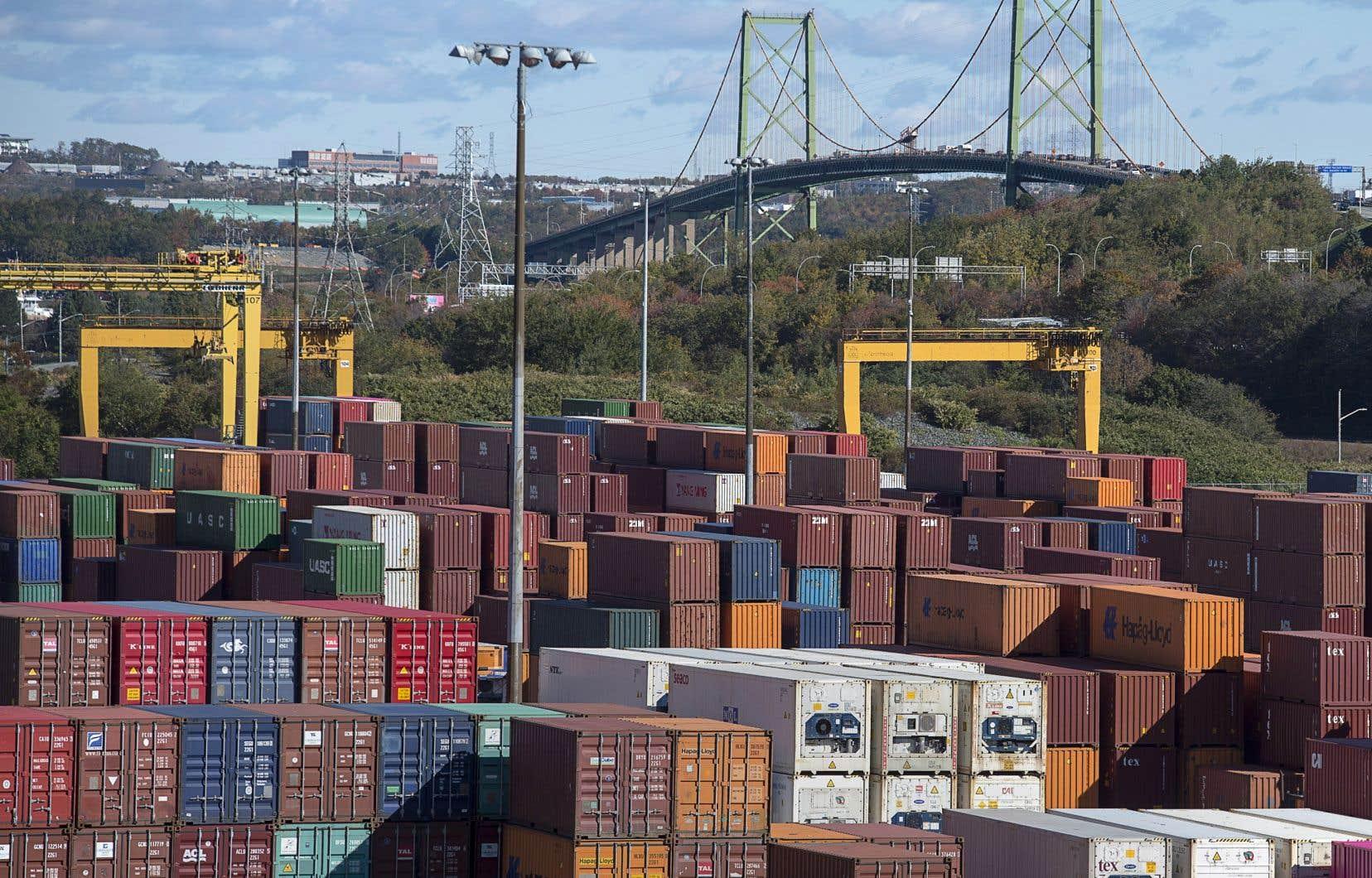 Entre octobre 2017 et septembre 2018, les exportations canadiennes vers l'Union européenne ont progressé de 3,8% par rapport à la période correspondante de 2016-2017.