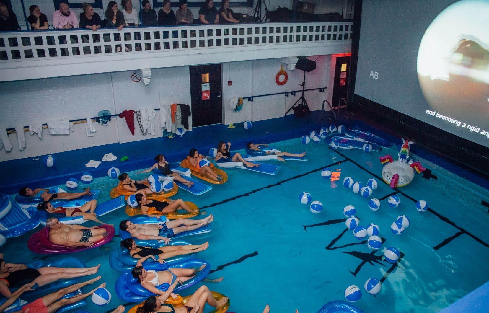 La premiere du film «Le grand bain» à la piscine du Club sportif MAA