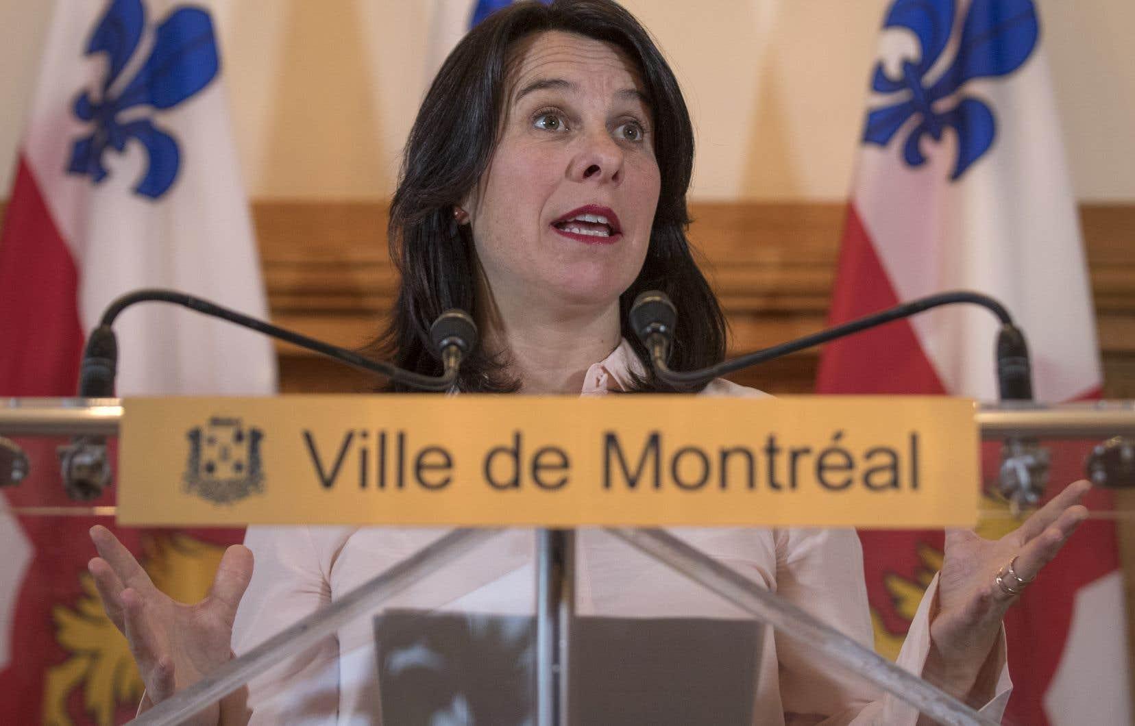 Lundi, Valérie Plante a assuré que les augmentations de taxes pour 2019 ne dépasseraient pas l'inflation.