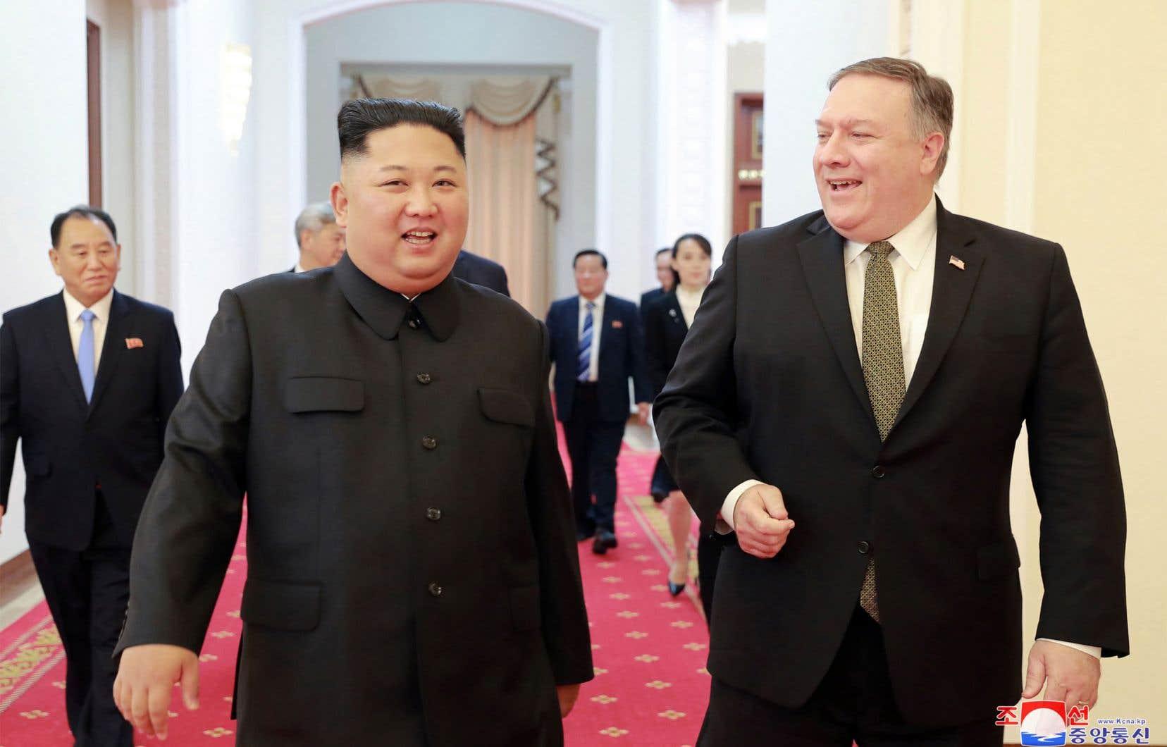 Ce second tête-à-tête, après le premier, historique, en juin à Singapour, aura lieu «en début d'année prochaine», a promis le président américain.