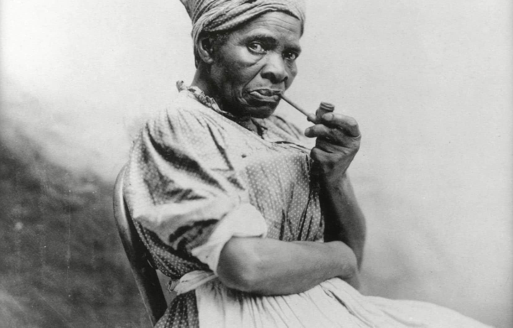 Mandy, cuisinière asservie à une famille d'Austin, au Texas, en 1865