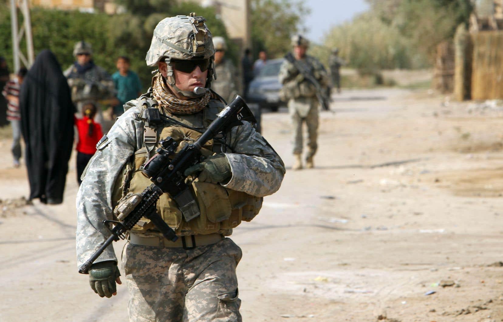 Depuis le lancement de la «guerre contre le terrorisme», près de 7000 soldats américains ont été tués en Irak et en Afghanistan.