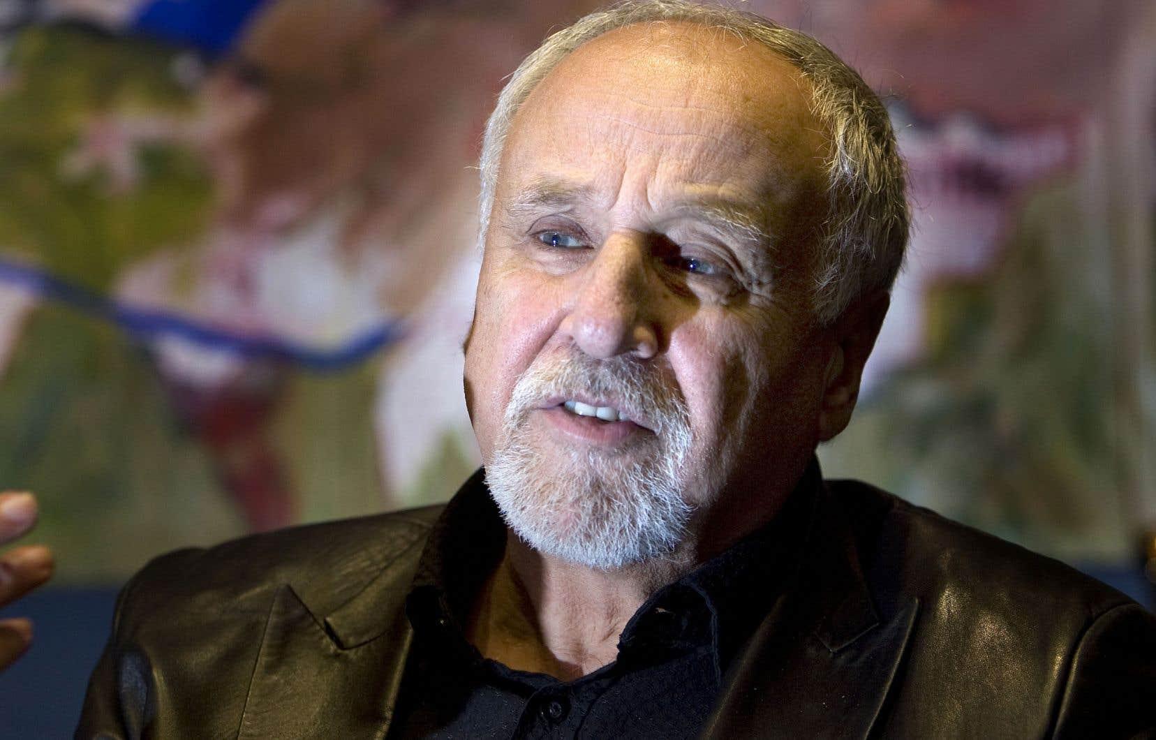 François Macerola, photographié en 2010