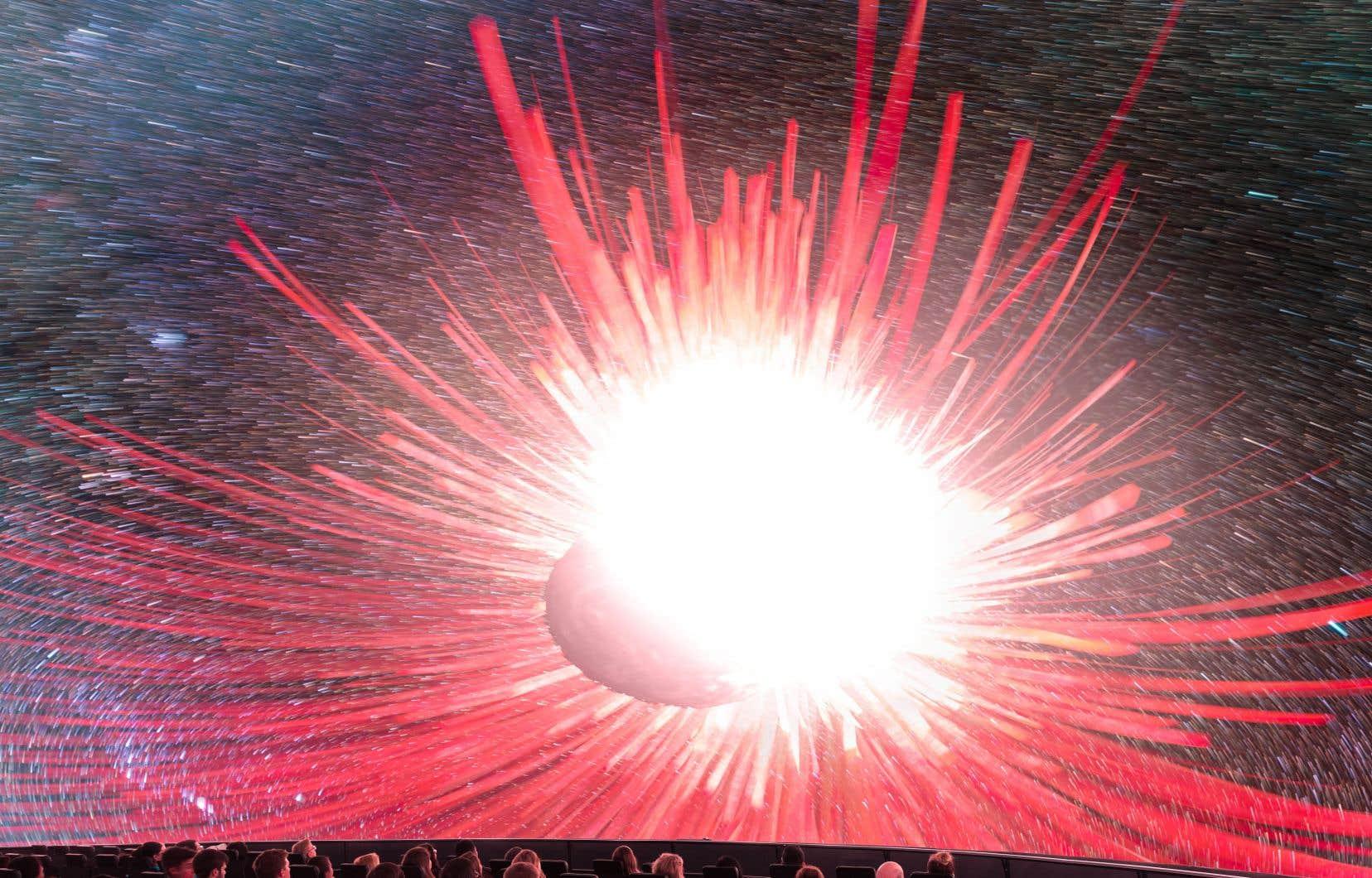 La grande vitesse de rotation d'Hauméa, sa composition majoritairement rocheuse et ses deux lunes résultent d'une violente collision qu'elle aurait subie.