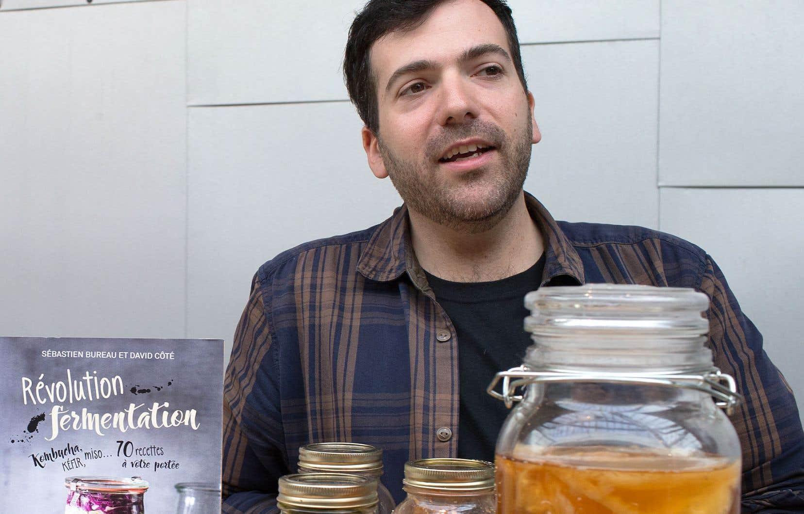 L'arrivée en librairie du livre «Révolution fermentation», de Sébastien Bureau (en photo) et David Côté, a contribué à motiver des fermentateurs amateurs à se lancer dans la production artisanale de boissons fermentées.