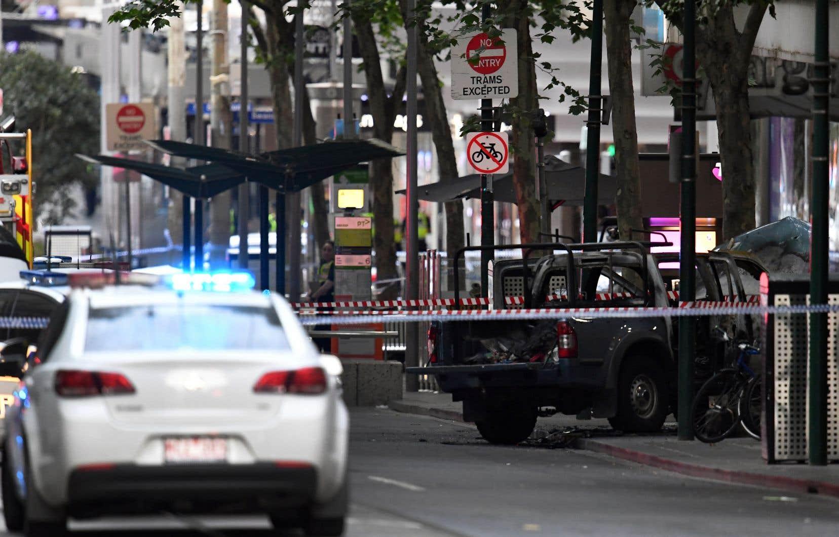 La police australienne a parlé d'un acte «terroriste».