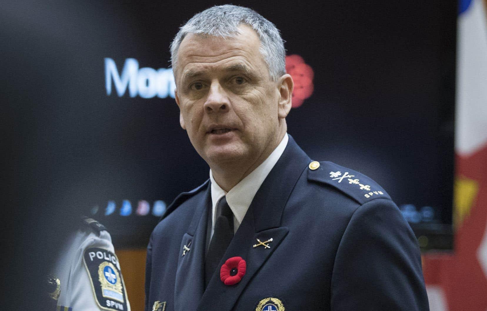 Sylvain Caron, chef désigné du SPVM