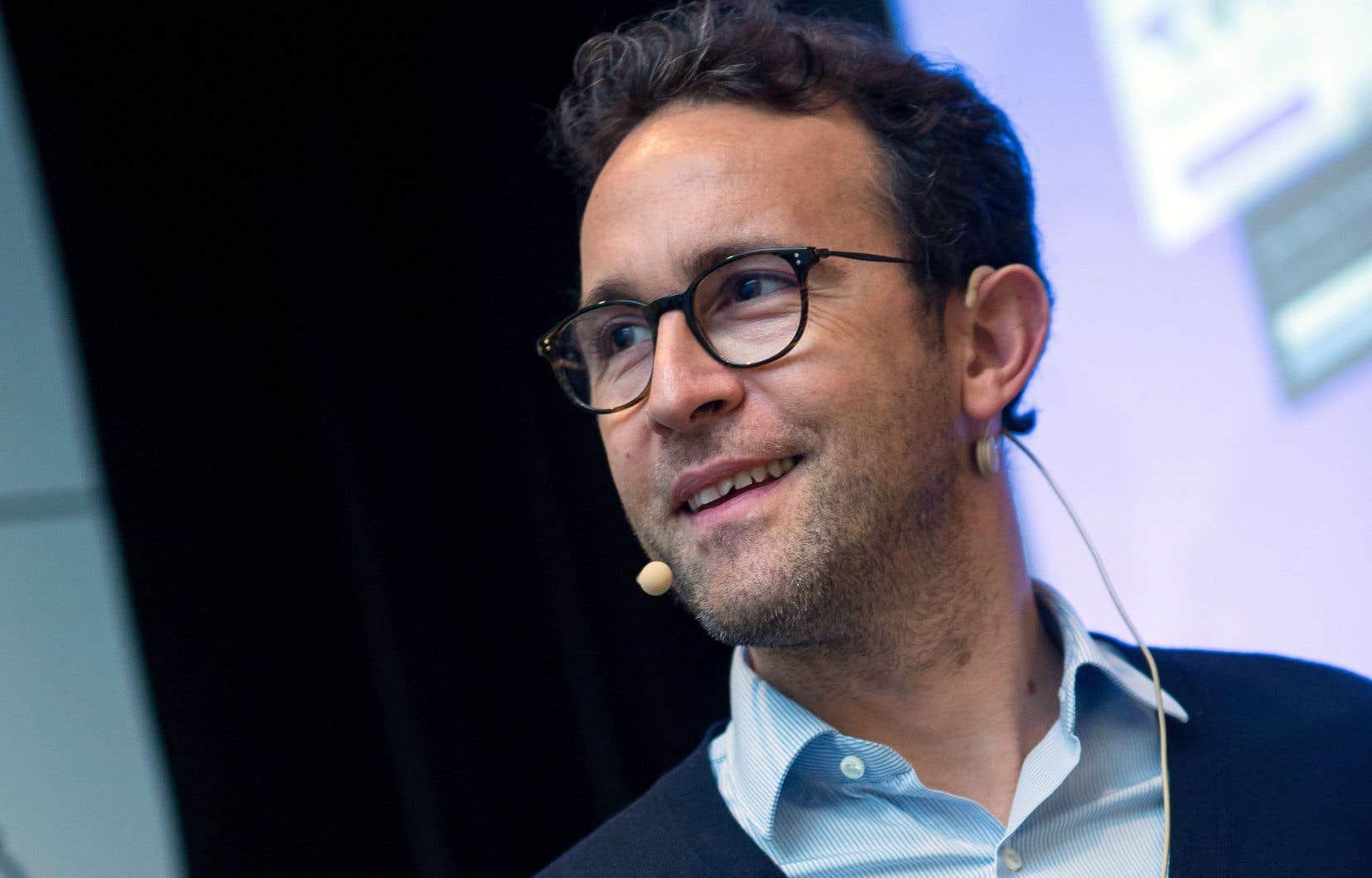 Fabrice Tocco, chef de la direction et cofondateur de Dawex