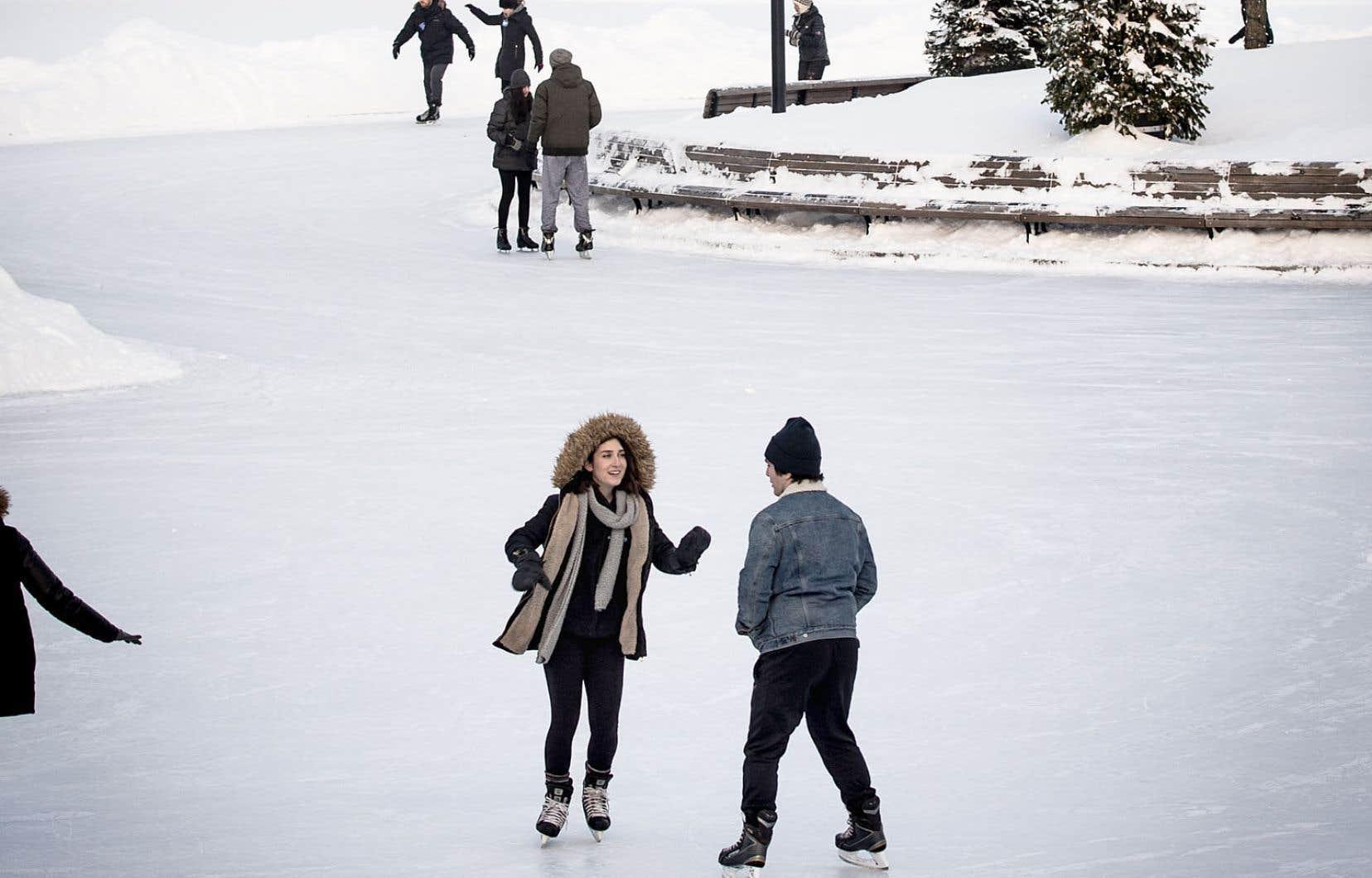 Montréal avait annoncé l'an dernier que la patinoire naturelle du lac aux Castors, sur le mont Royal, serait chose du passé.