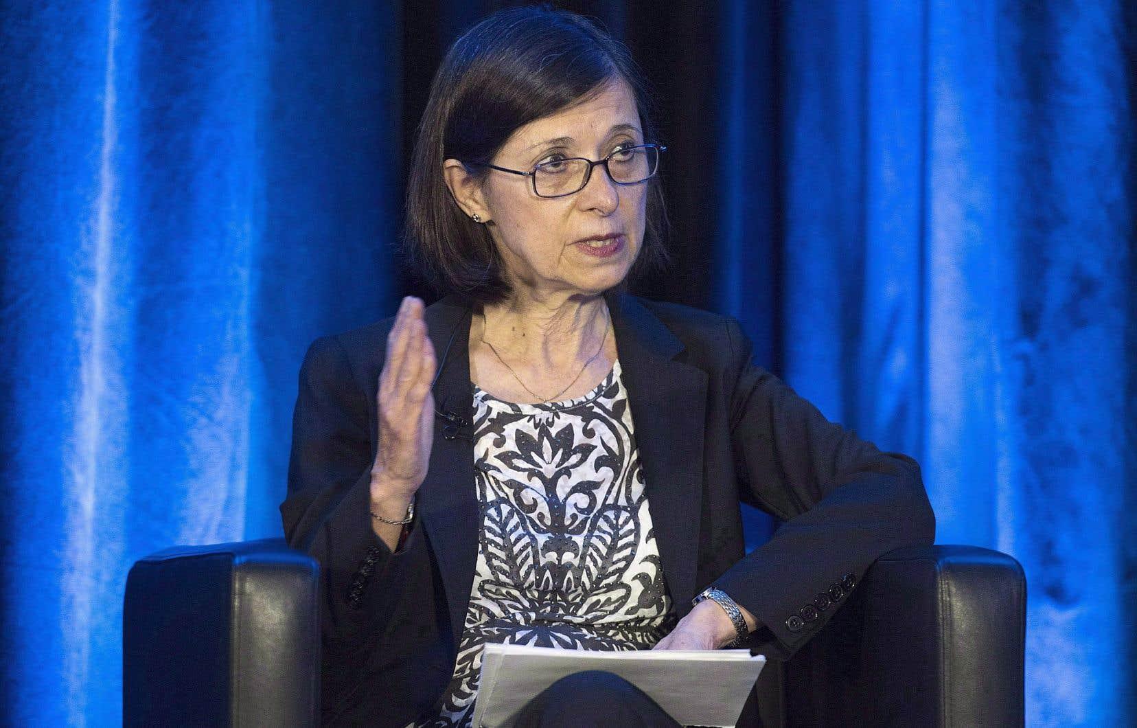 La nouvelle ministre québécoise de la Santé, Danièle McCann