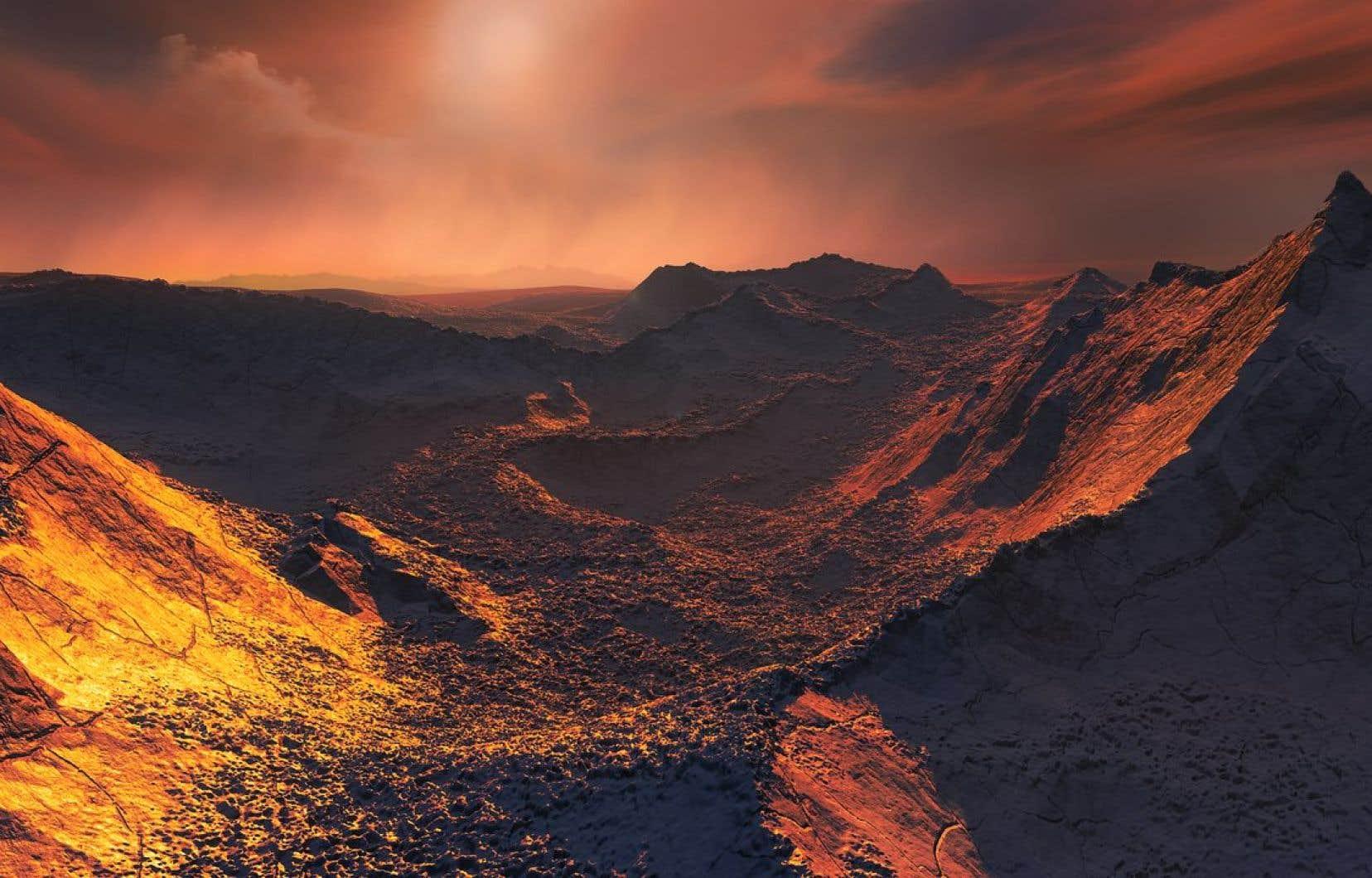 L'Étoile b de Barnard est située à quelque 6 années-lumière de la Terre.