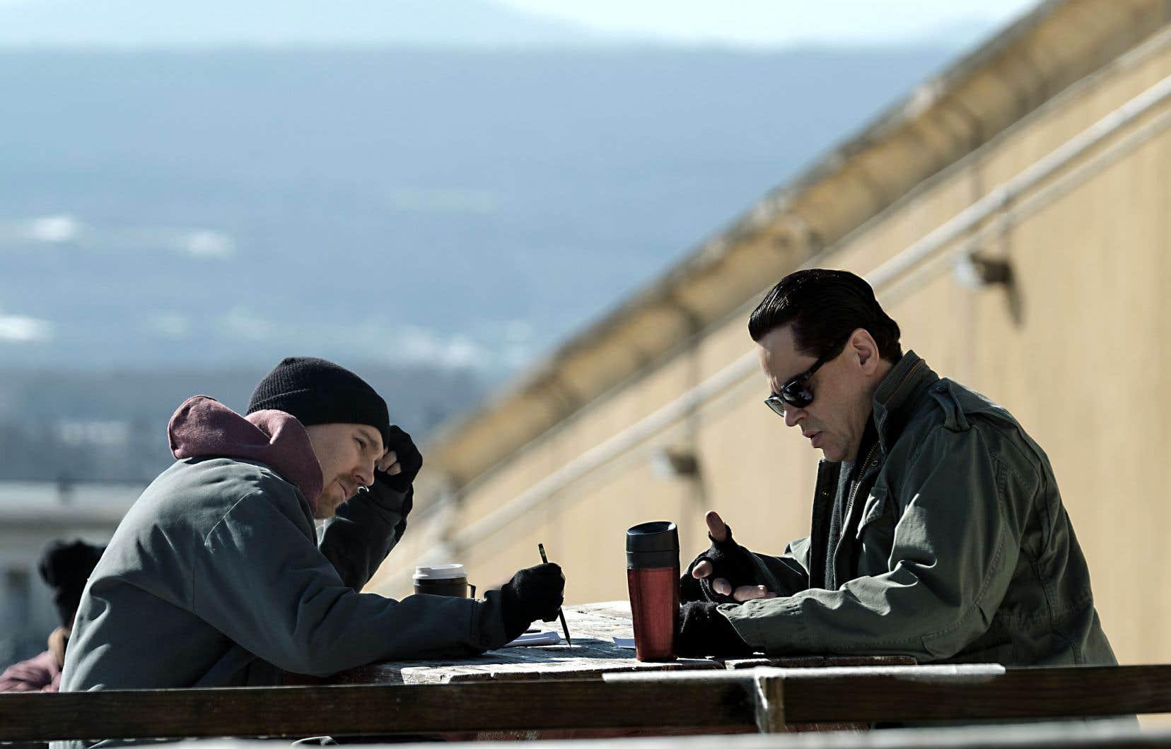 Dans la peau des évadés, Paul Dano et Benicio Del Toro sont formidables de roublardise et de détresse amère.