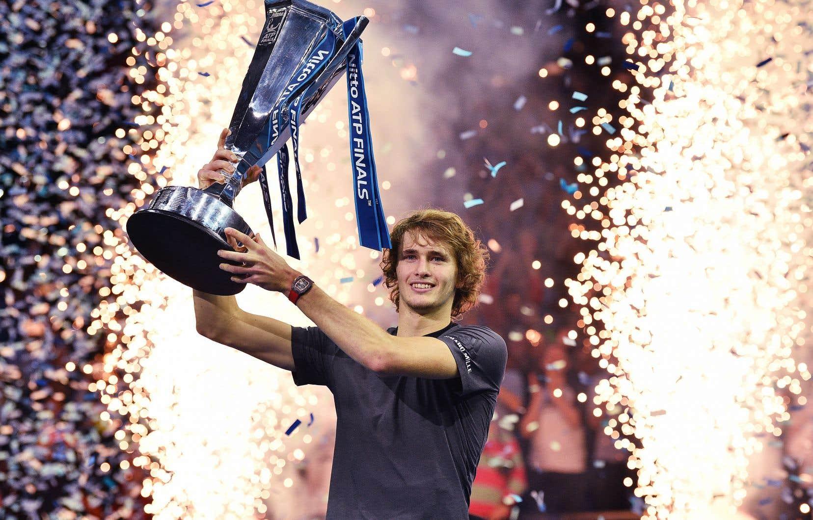 Hormis les membres du «Big 4» (Djokovic, Nadal, Federer et Murray), Alexander Zverev est le seul joueur encore actif à avoir remporté au moins trois tournois de la catégorie Masters 1000.