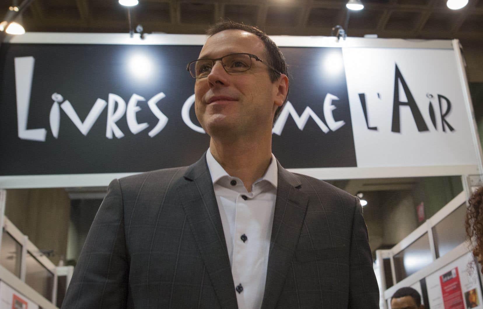 Le ministre de l'Éducation, Jean-François Roberge