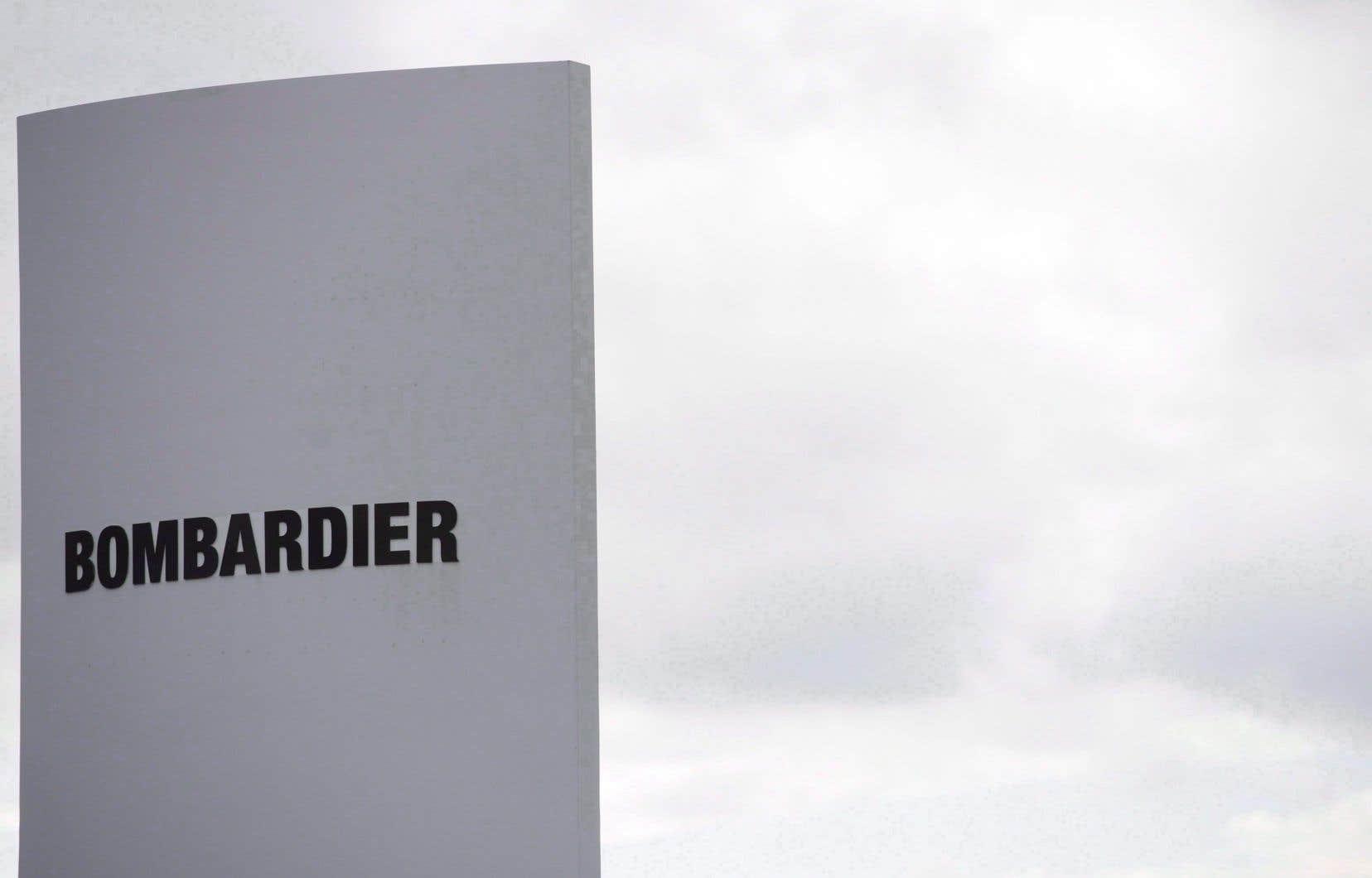 Même à son cours actuel, l'action de Bombardier a perdu la moitié de sa valeur au cours du dernier mois.
