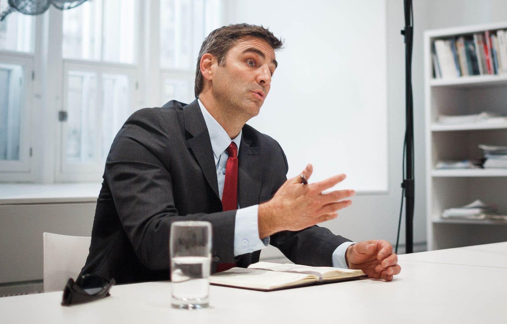 Le chef de l'opposition à la ville de Québec, Jean-François Gosselin