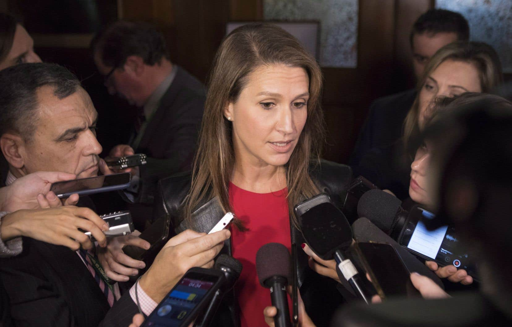 La ministre responsable des Affaires francophones de l'Ontario, Caroline Mulroney