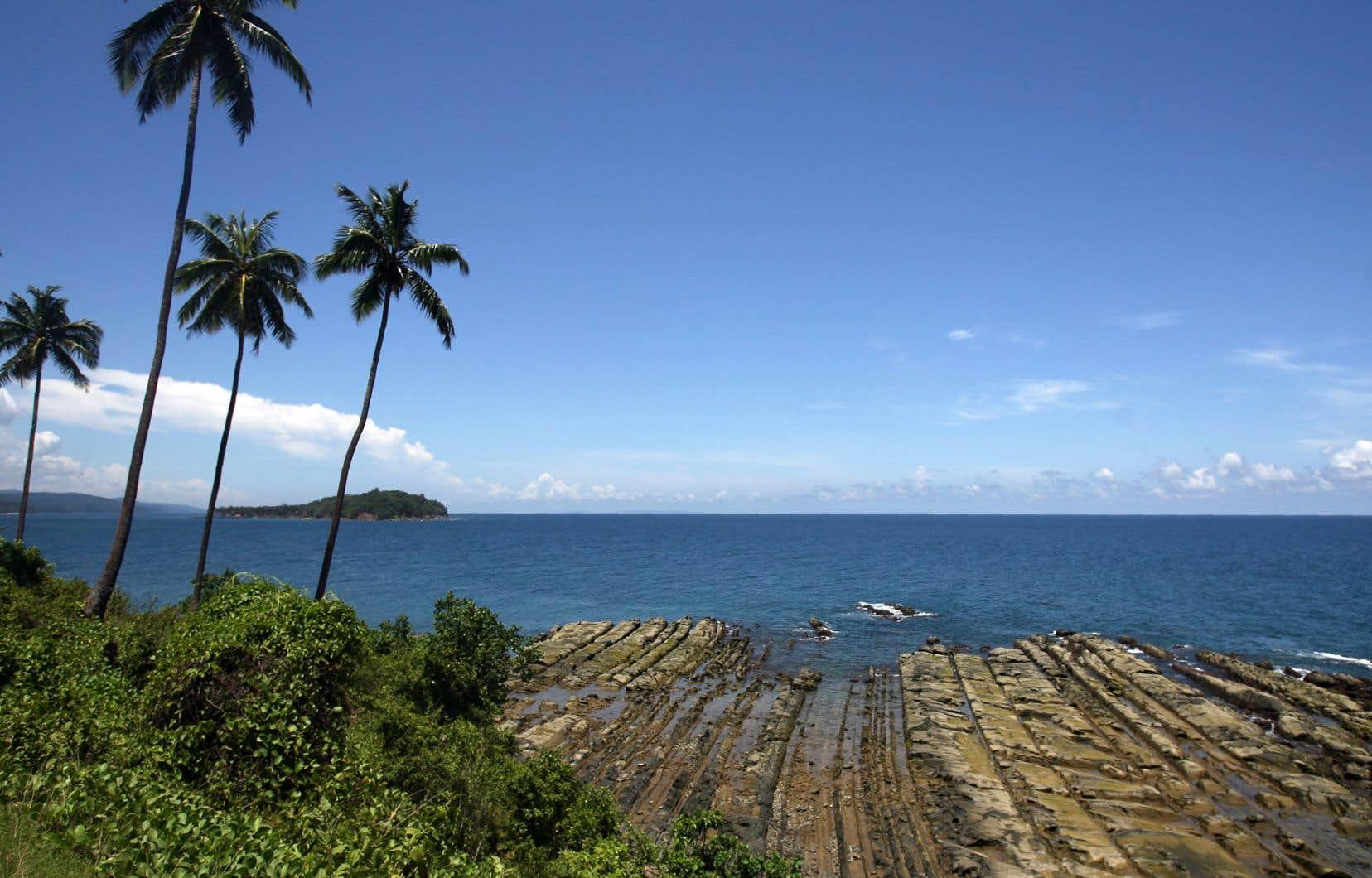 John Chau avait effectué plusieurs voyages aux îles Andaman (notre photo) par le passé, avant de vouloir accéder aux Sentinelles voisines.