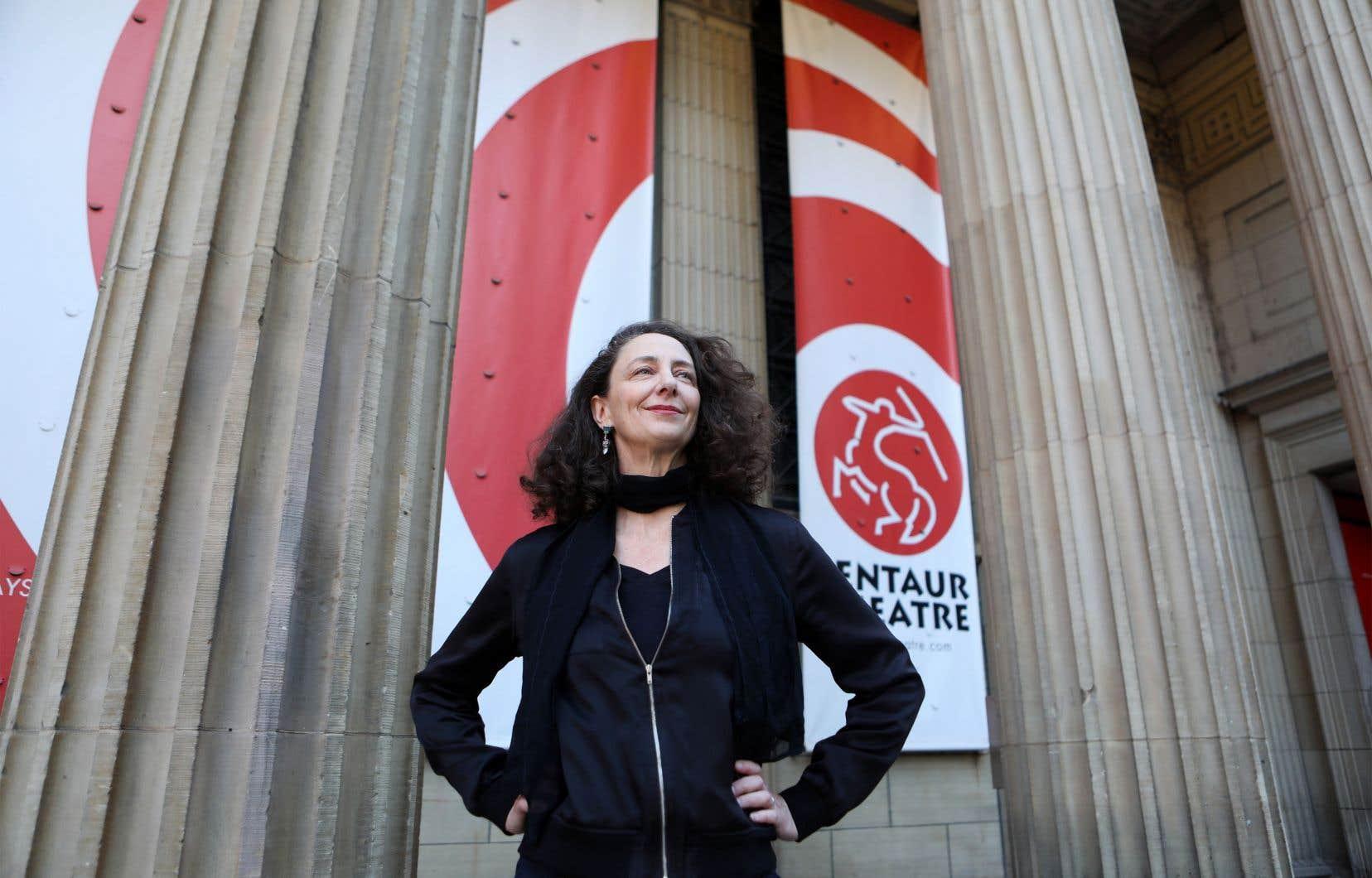 Environ 30% du public fréquentant le Centaur serait francophone. Une proportion que sa directrice Eda Holmes aimerait encore augmenter. Elle espère collaborer avec «des artistes francophones connus».