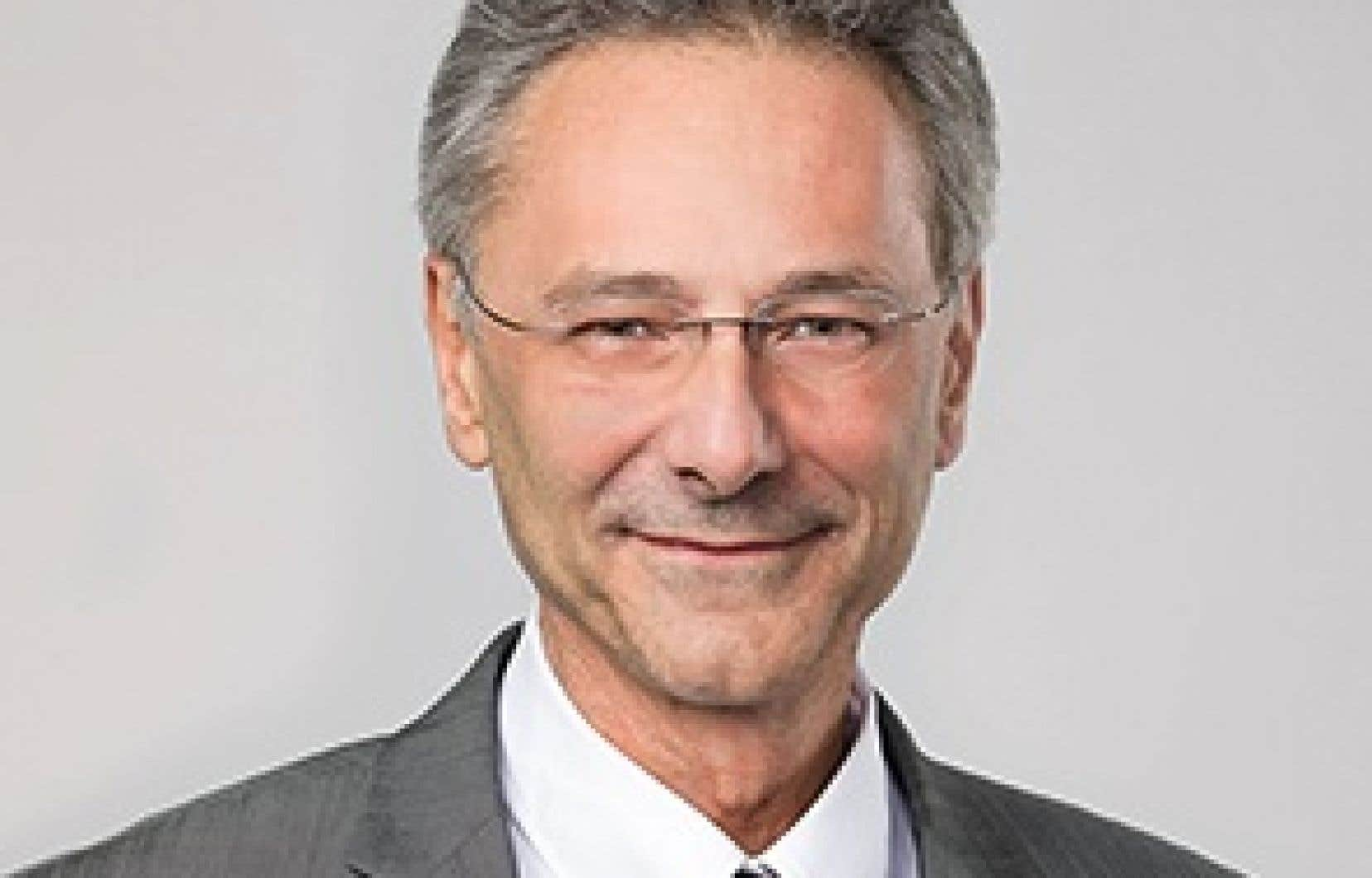 Le maire de Chambly, Denis Lavoie