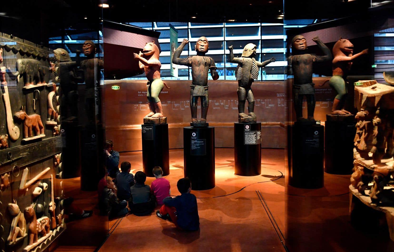 À lui seul, le musée du Quai Branly de Paris posséderait environ 70 000 oeuvres d'art africaines.