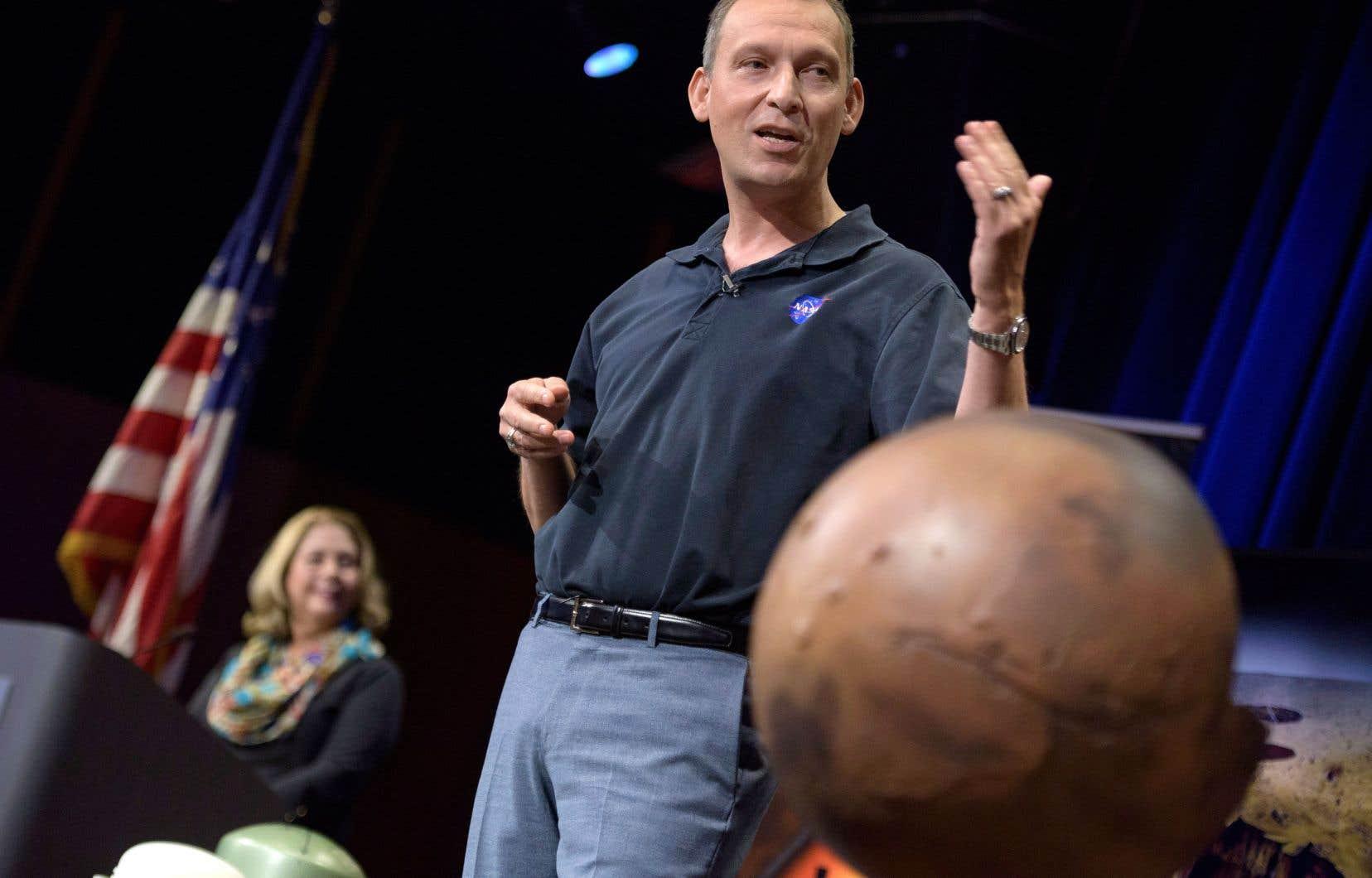«Avec Mars, rien n'est jamais acquis. Mars est difficile», a rappelé Thomas Zurbuchen, chef du directorat scientifique de la NASA.