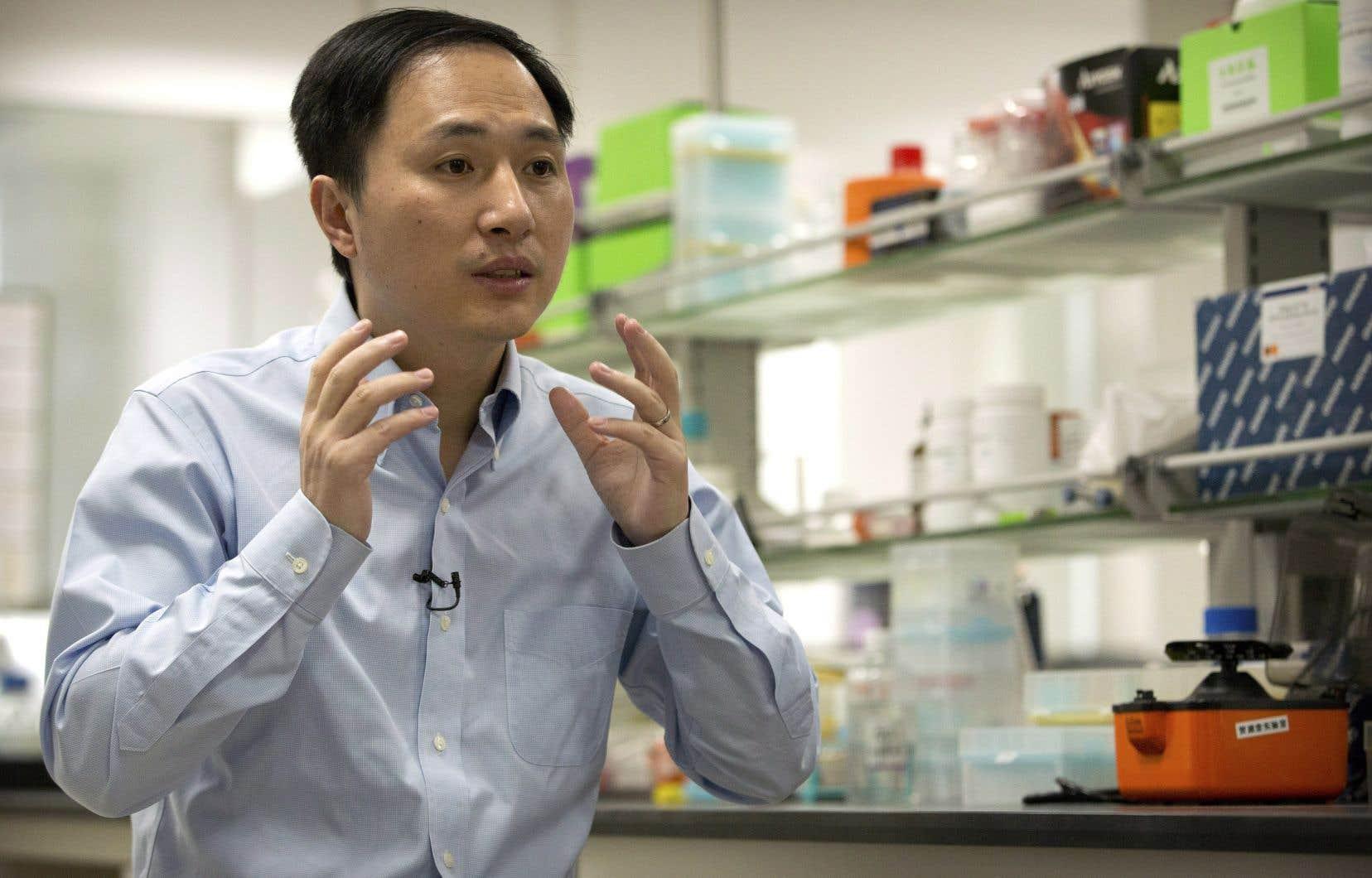 Le professeur d'université à ShenzhenHe Jiankua annoncé dans une vidéo diffusée lundi la naissance de deux jumelles dont l'ADN a été modifié pour les rendre résistantes au virus du sida.