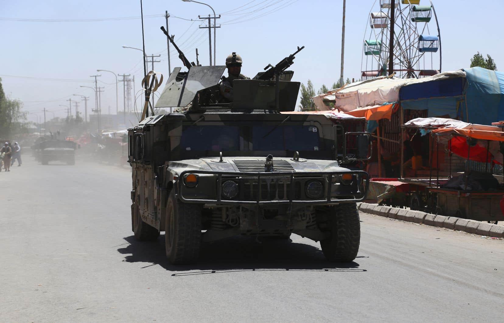 Les soldats américains ont perdu la vie près de la ville de Ghazni, dans le centre de l'Afghanistan.