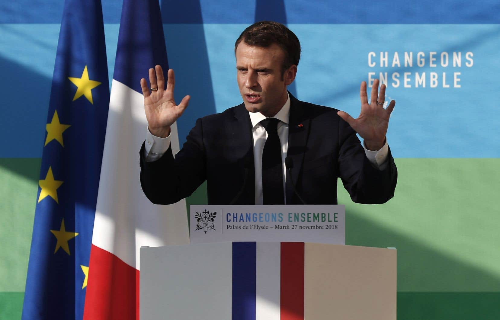 Mardi, Emmanuel Macron a fait de premières annonces visant à atteindre l'objectif gouvernemental de ramener à 50% la part du nucléaire dans la production d'électricité d'ici 2035, contre 71,6% en 2017.