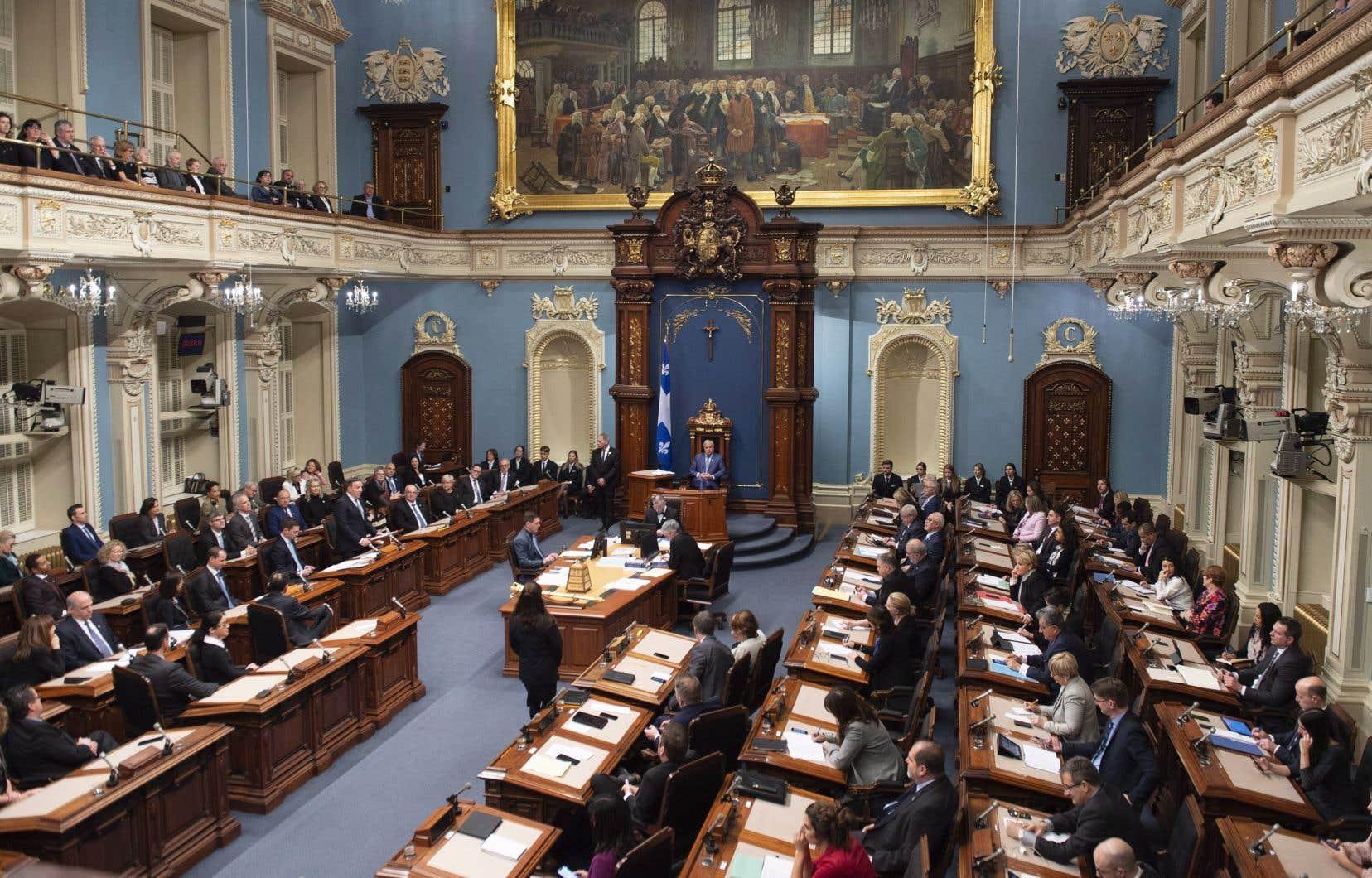 Les oppositions libérale, péquiste et solidaire ont jugé que le discours du premier ministre Legault manquait de détails.