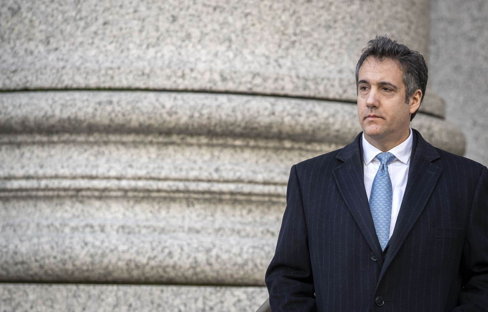 L'ancien avocat personnel de Donald Trump, Michael Cohen