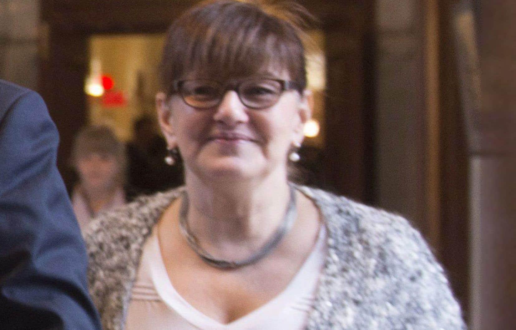 Johanne Whittom a été chef de cabinet adjointe de Philippe Couillard entre 2014 et 2017.