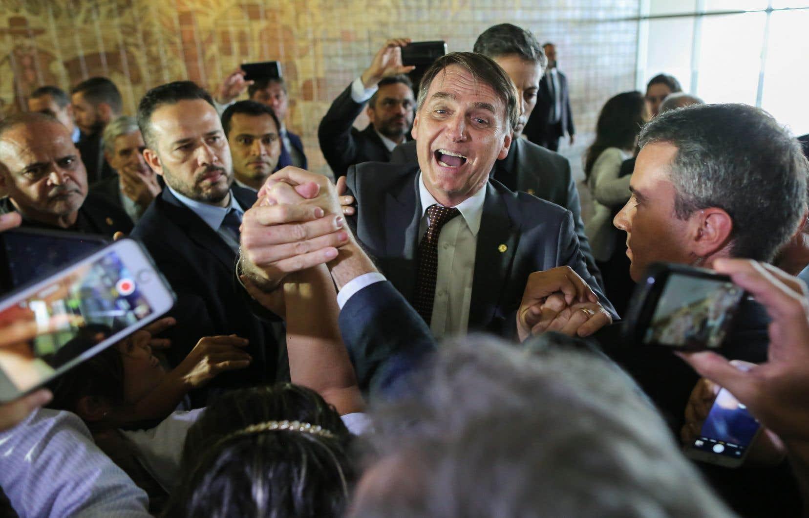 Jair Bolsonaro, nouveau président du Brésil