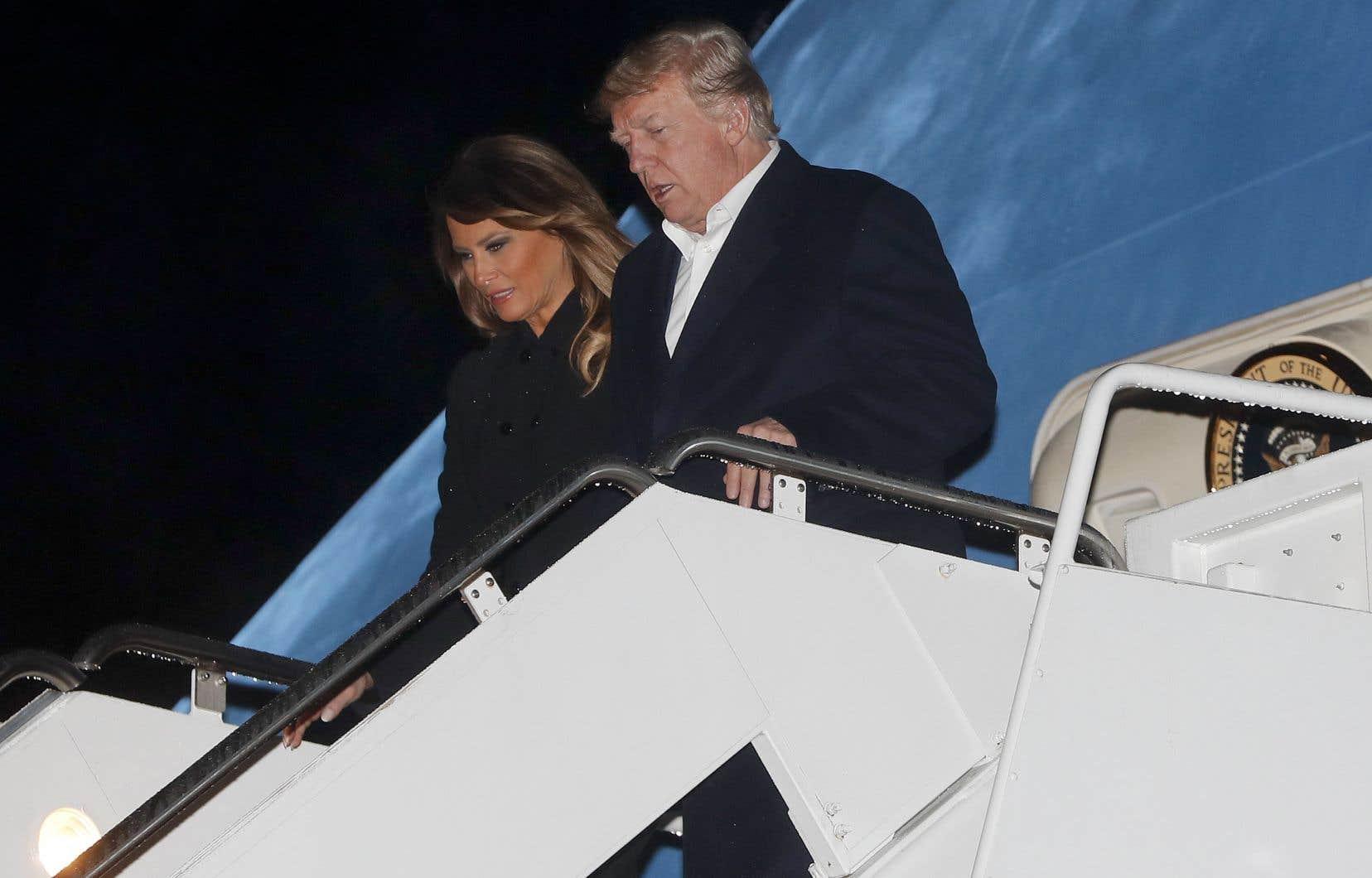 M.Trump était à bord d'«Air Force One», de retour de Buenos Aires, lorsqu'il a déclaré qu'il mettrait fin à l'ALENA.