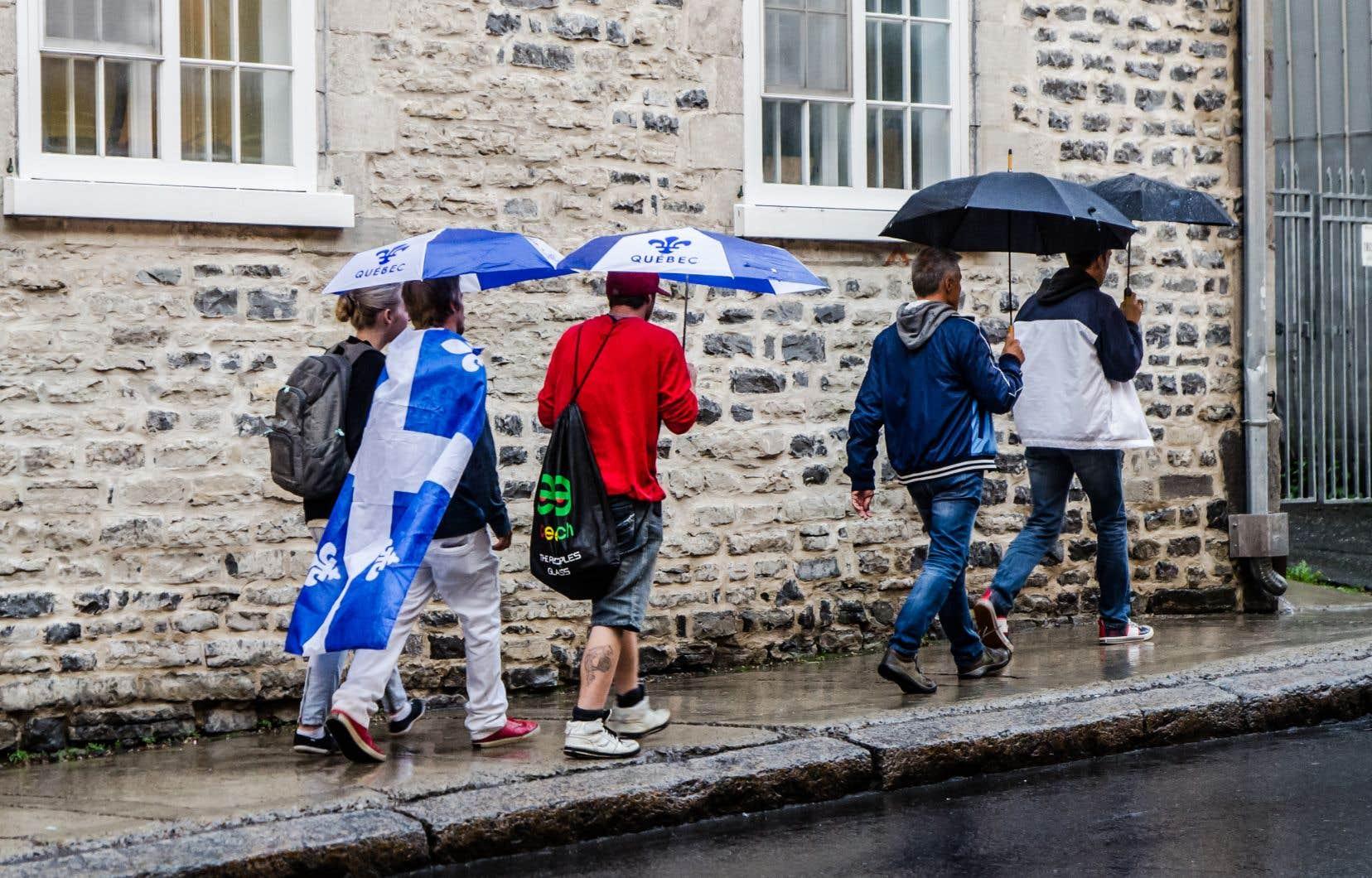 Les jeunes (18-24ans) au Québec ne se sont jamais autant dits «Québécois», et jamais si peu dits «Canadiens français», pense l'auteur.
