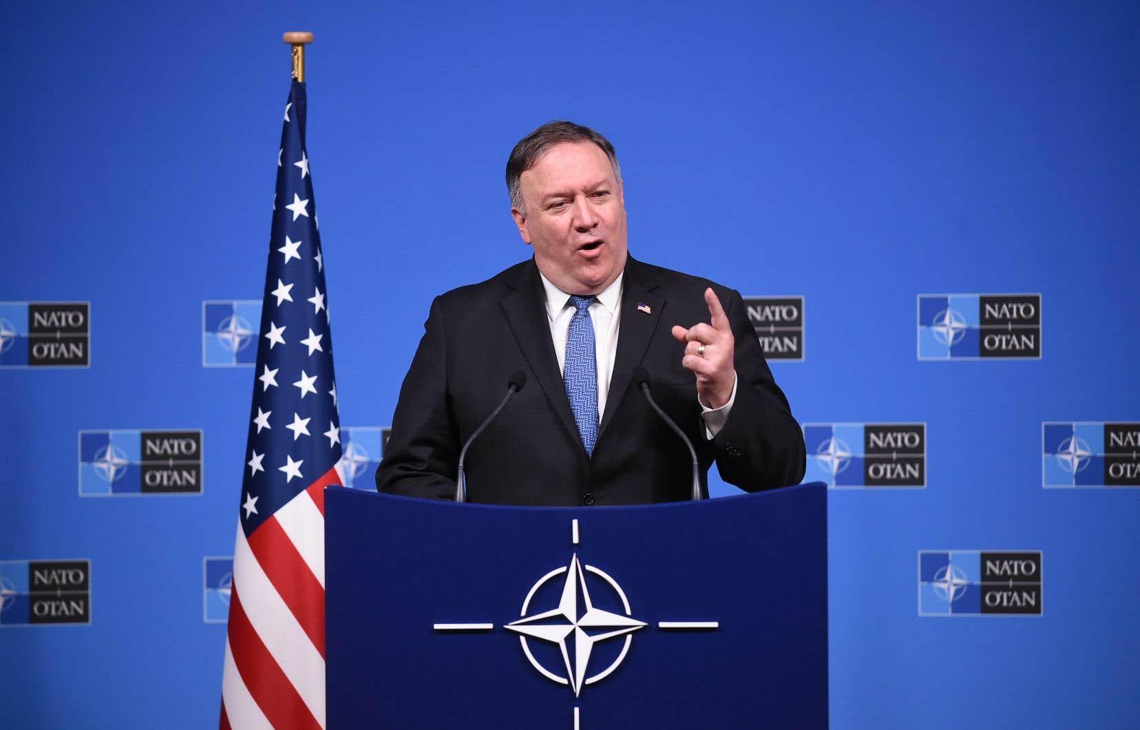 Le secrétaire d'État américain Mike Pompeo a déclaré que les États-Unis suspendraient leurs obligations en vertu de ce traité dans un délai de 60 jours en raison des violations présumées.