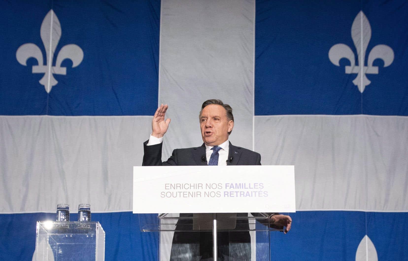 Le gouvernement Legault table plus réalistement sur une décélération sensible de la croissance du PIB québécois.