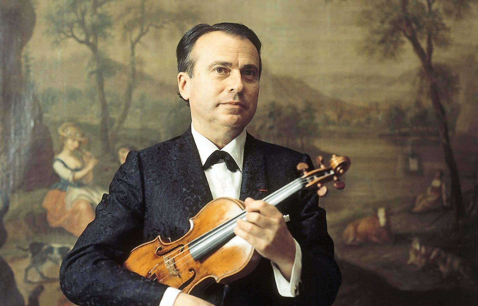 La carrière discographique d'Henryk Szeryng suit le développement de sa carrière de concertiste.