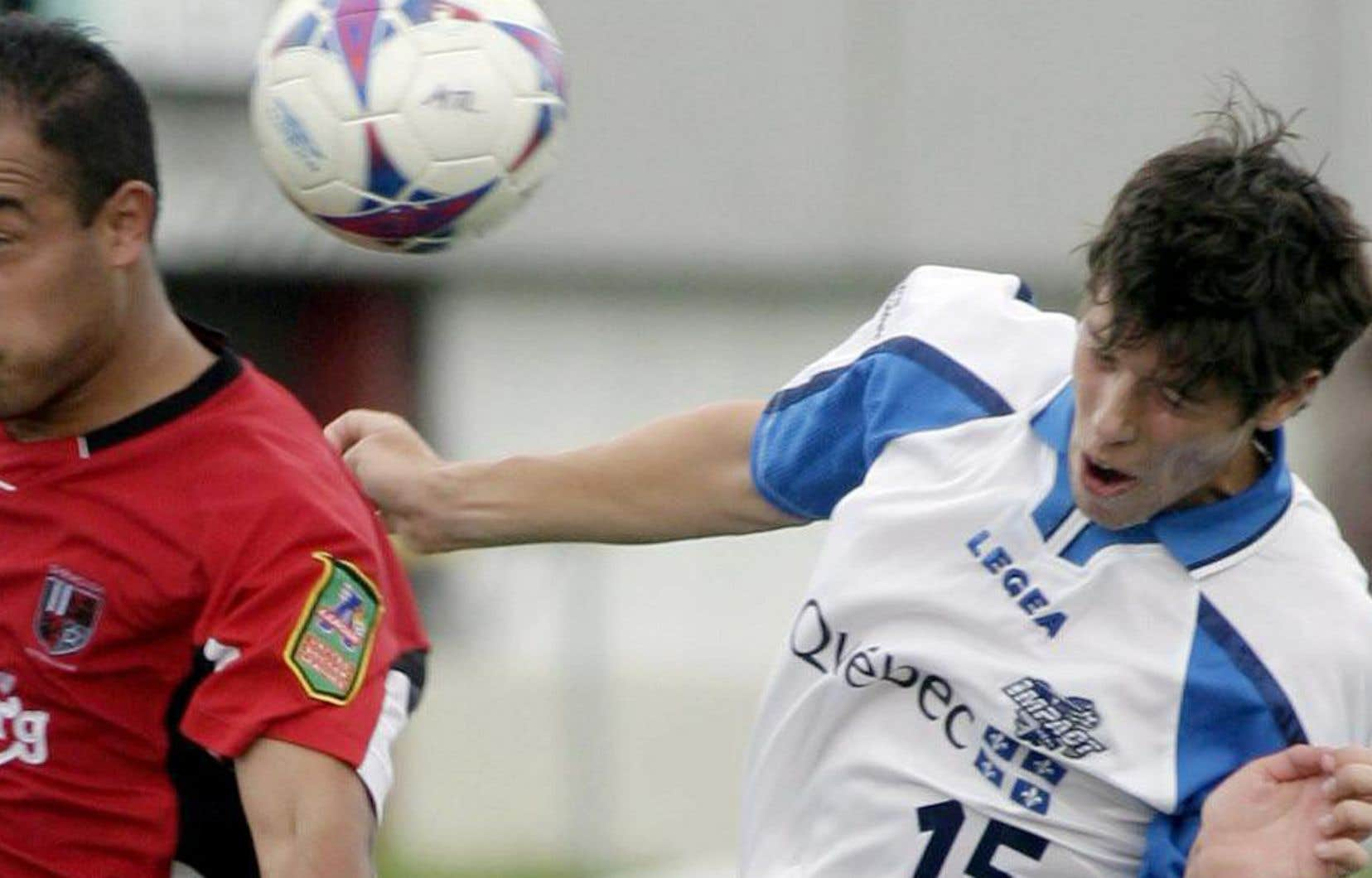Patrick Leduc (15) a porté les couleurs de l'Impact de 2000 à 2010. L'ex-milieu de terrain a notamment remporté le championnat de la A-League, en 2004, et celui de la NASL, en 2009, avec le onze montréalais.