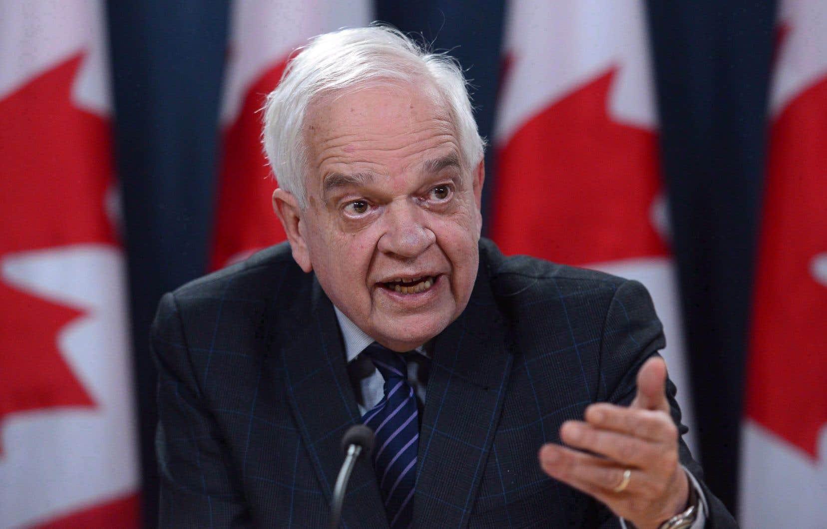 L'ambassadeur canadien à Pékin, John McCallum