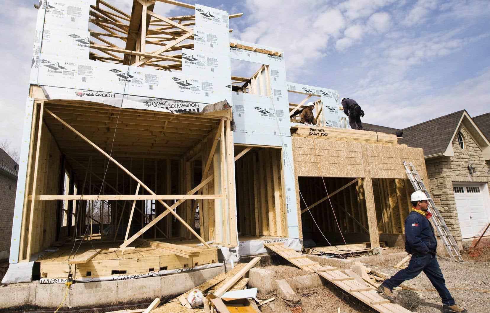 Le nombre de mises en chantier dans les centres urbains a augmenté de 2,2% en novembre, pour atteindre 202054.