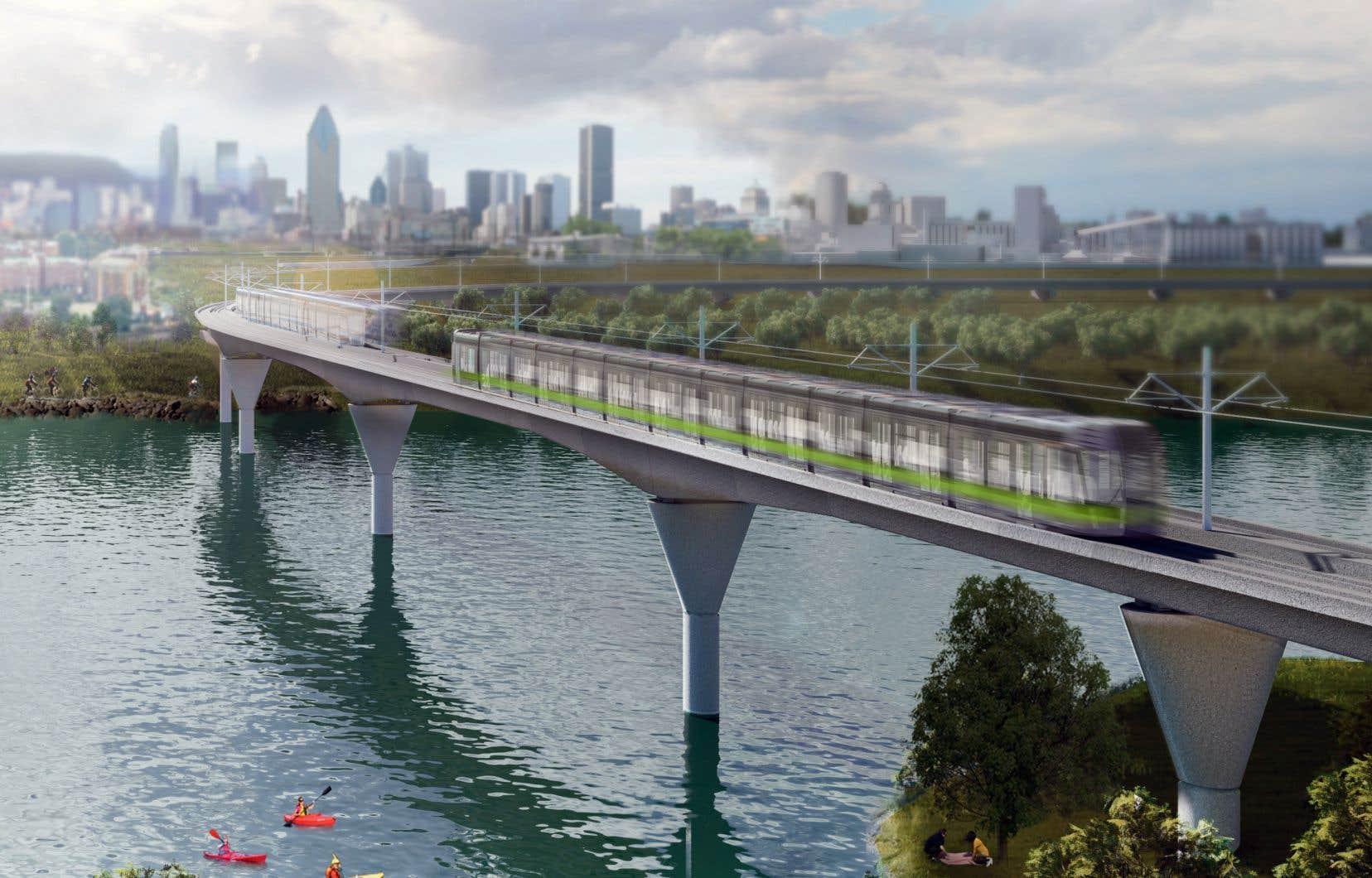La Ville de Mont-Royal insiste pour que le tronçon du Réseau express métropolitain, qui verra passer quelque 550 trains par jour dans ce secteur, soit recouvert.